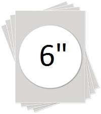 """Kopykake 6"""" Round Frosting Sheet"""