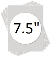 """7.5"""" Round Kopykake Frosting Sheet"""